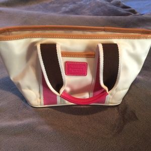 """NWOT COACH """"Hampton"""" mini purse. So cute!"""